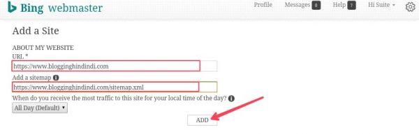 Blog URL Ko Google Bing Aur Yahoo Me Submit Kaise Kare 4