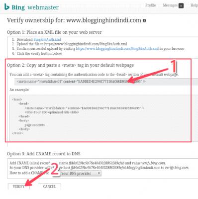 Blog URL Ko Google Bing Aur Yahoo Me Submit Kaise Kare 5