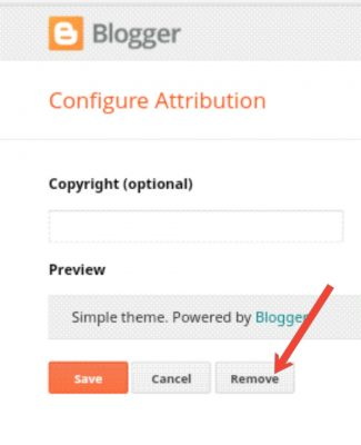 Blogger Blog Se Powered By Blogger Attribution Ko Kaise Remove Kare 4