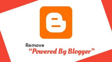 how to remove hide blogger powered by blogger attribution