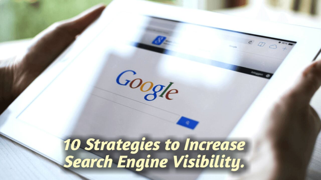 SEO strategies to increase search engine visibility