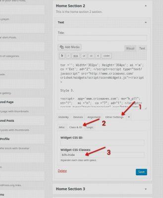 WordPress Blog Ke Kisi Widget Ko Mobile Hide Kaise Karte Hai 3