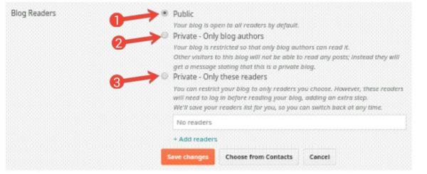 Blogspot Blog Ko Private Kaise Banate Hai 2