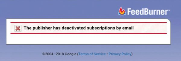 """Feedburner Me """"The Feed does not have Subscriptions by Email Enabled"""" Issue Ko Fix Kaise Kare 1"""
