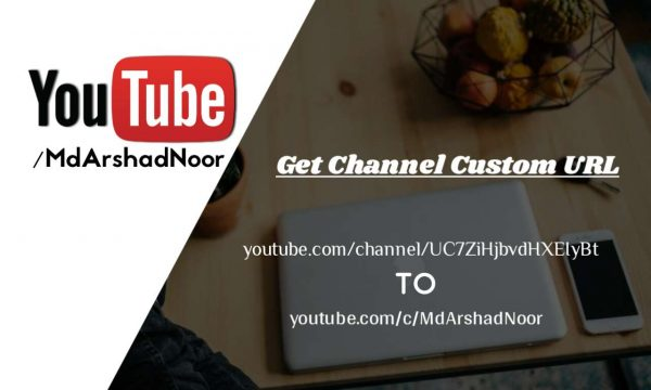 youtube me channel custom url kaise setup kare