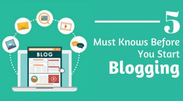 blogging start karne se pahle 5 bate jarur jaan le