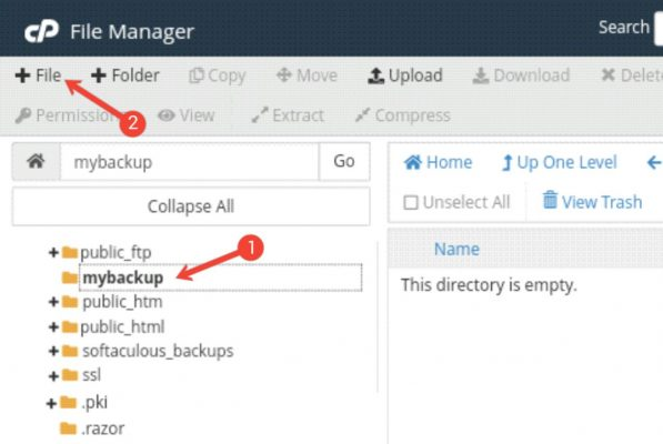 Bina Plugin Ke Automatically WordPress Backup Setup Kaise Kare 4