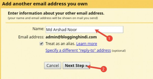 Custom Email Account Ko Gmail Account Se Connect Kaise Kare [Step by Step] 12