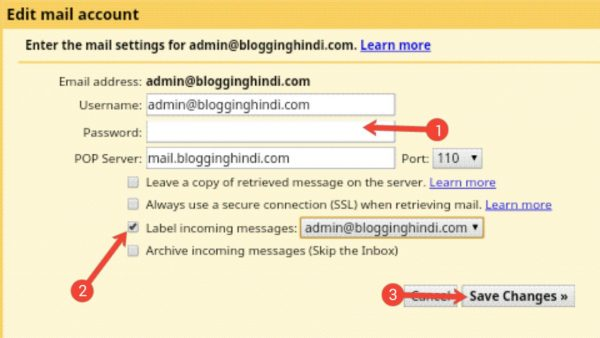 Custom Email Account Ko Gmail Account Se Connect Kaise Kare [Step by Step] 10