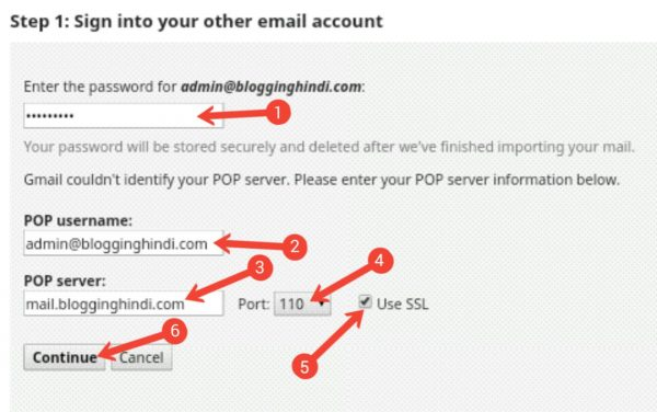 Custom Email Account Ko Gmail Account Se Connect Kaise Kare [Step by Step] 6