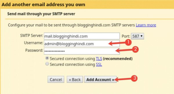 Custom Email Account Ko Gmail Account Se Connect Kaise Kare [Step by Step] 13