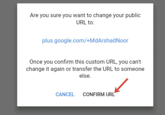 Google Plus Profile Me Custom URL Setup Kaise Kare 3