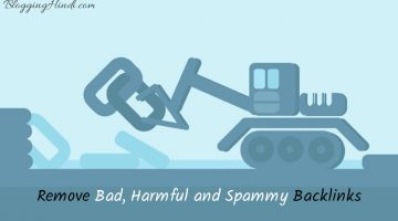 harmful bad backlinks ko remove kaise kare penalty se bachne
