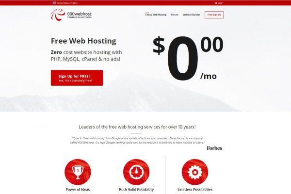 WordPress Ke Liye Top 5 Free Hosting Companies [For Newbie] 1