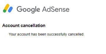 Adsense Account Ko Delete Ya Cancel Kaise Kare 4