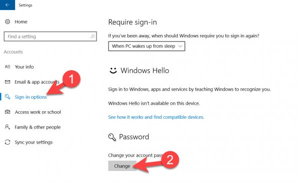 Windows 10 Me Screen Password Lock Setup Ya Change Kaise Kare 3