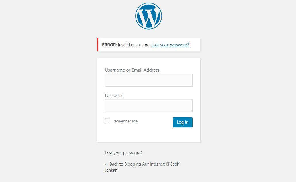 WordPress Me Email Se Login Karna Disable Kaise Kare [2 Mthods] 2
