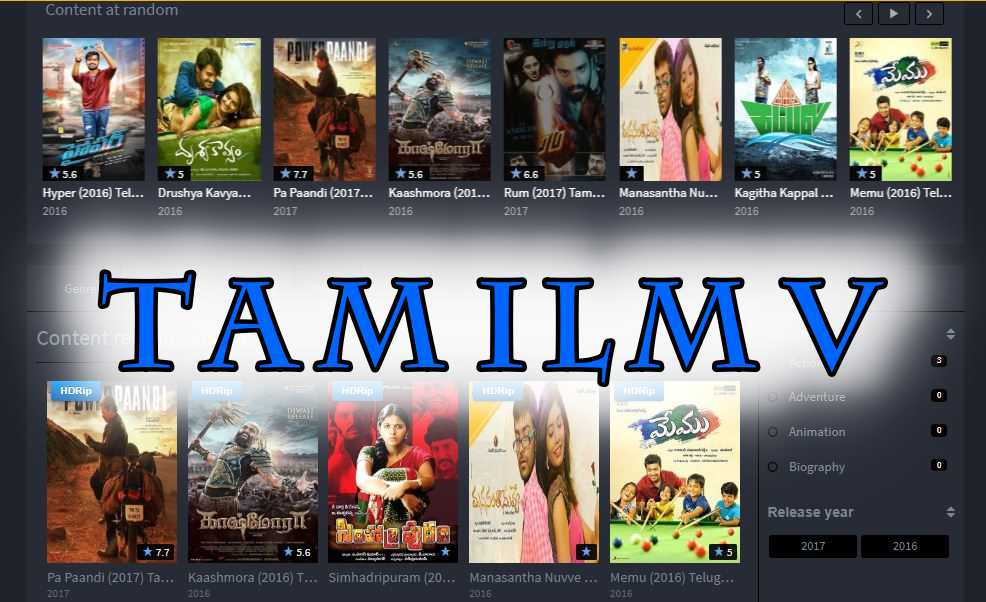 TamilMV 2019: Latest Tamil, Telugu, Malayalam, Kannada Hindi Dubbed Movies Download