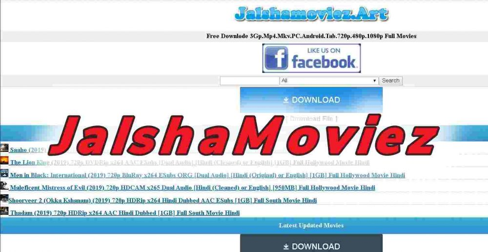 Jalshamoviez 2019 – Hollywood, Bollywood, South Movies Online Free Download