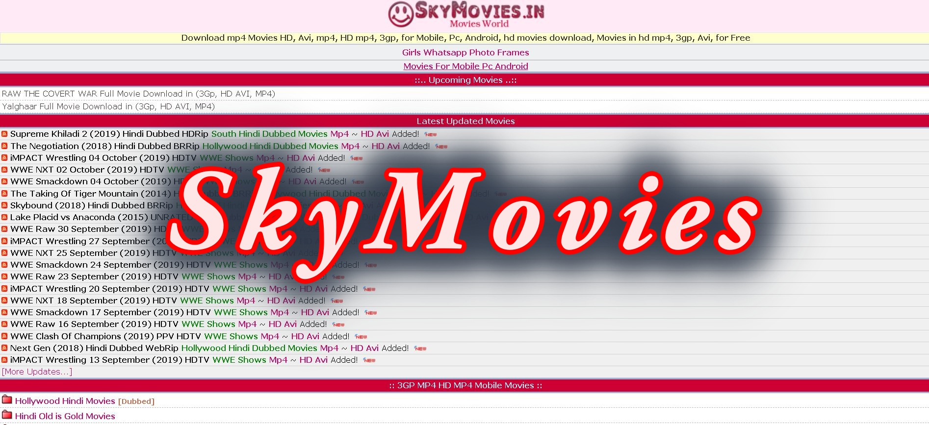 SkyMovies 2019 download bollywood hollywood hd movies free