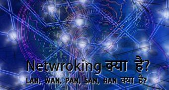 networking kya hai lan wan pan san kya hai