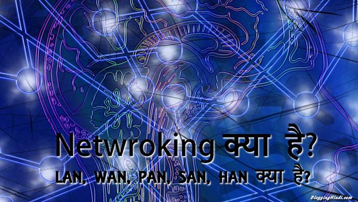 Network क्या है? LAN, WAN, PAN, SAN, HAN, MAN क्या है?
