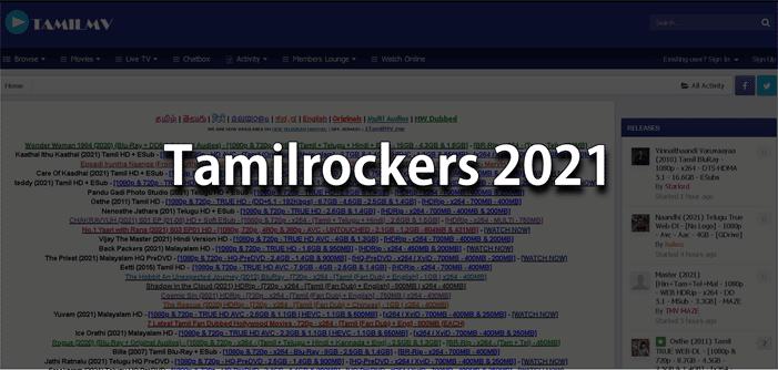 Tamilrockers 2021 New Link – (tamilrockers.ws) Latest Tamilrockers Websites For HD Movies 1