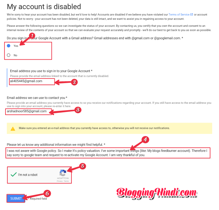 how to delete my gmail account without logging in