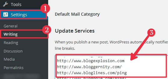 WordPress Blog Post Ko Search Engine Me Fast Index Ke Liye 300+ Ping List Update Kare [Full Guide] 2