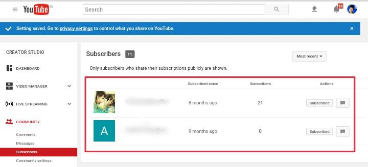 Apke Youtube Channel Se Kisne Subscribe Kiya Hai? Kaise Pata Kare 3