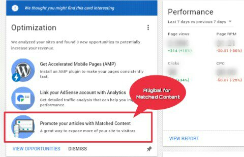 Adsense matched content kyu aur kaise use kare full guide puri jankari check adsense available for matched content