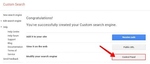 Blog me Google custom Search Engine Kaise Add Kare 3
