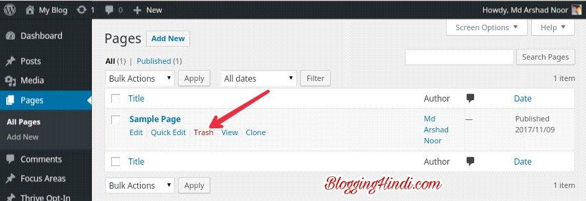 WordPress Install karne Ke Baad 10 Jaruri Sittings Kare 6