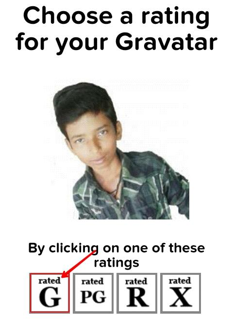 Gravatar Me Account Bana Kar Comment Me Apna Photo Show Karwaye 9