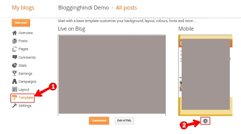 Blogger Me Template Change/Upload Kaise Kare 3