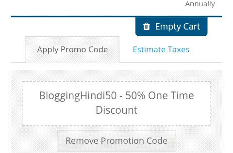 Get Hostlelo hosting on 50% discount
