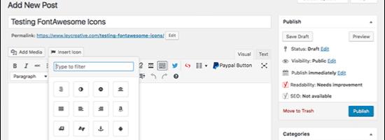 WordPress Blog Me Font Awesome Add Karne Ke 5 Easy Methods 1