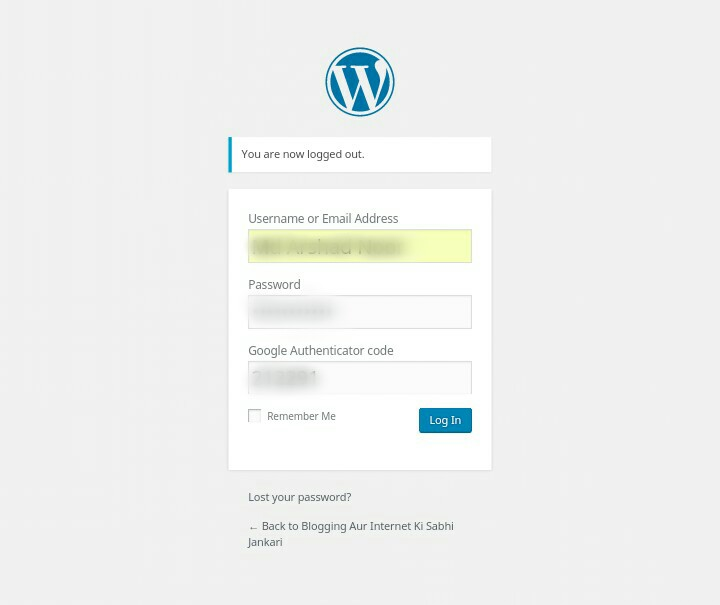 WordPress Security Ke Liye Site Me Two Step Authentication Ko Enable Kaise Kare 6
