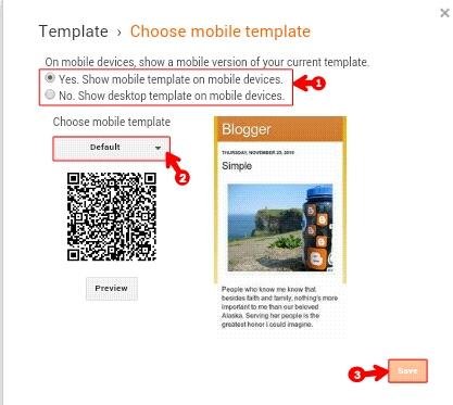 Blogspot Blog Ko Puri Tarah Se Mobile Friendly Kaise Banaye 2