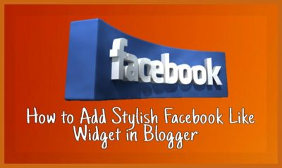 Blog Me Facebook Page Box Widget Kaise Add Kare (100% Tested)