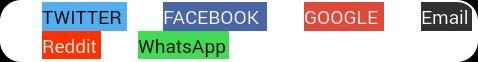 JetPack Social Sharing Buttons Ko Stylish Aur Colorful Kaise Banaye 5