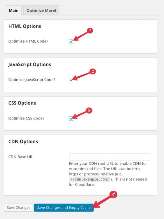 WordPress Site Ki HTML, CSS Aur JavaScript Ko Minify Karke Speed Badhaye 2