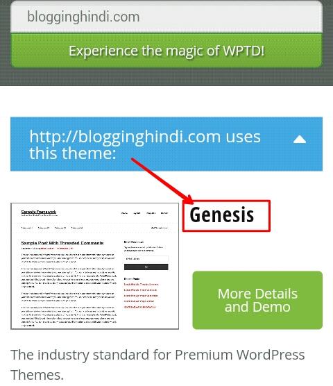 Kisi Bhi Blogger ya Wordpress Blog Ka Theme/Template Kaise Check Kare 3