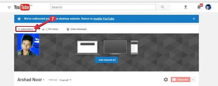 Apke Youtube Channel Se Kisne Subscribe Kiya Hai? Kaise Pata Kare 2