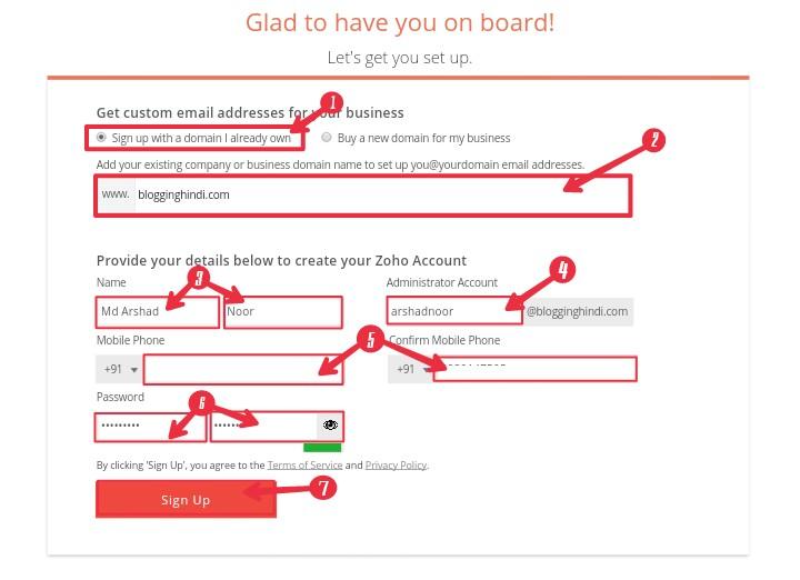 ZohoMail Par Custom Domain Se Free Professional Email Address Kaise Banaye 1