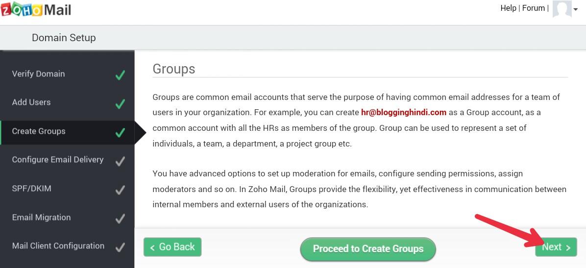 ZohoMail Par Custom Domain Se Free Professional Email Address Kaise Banaye 6