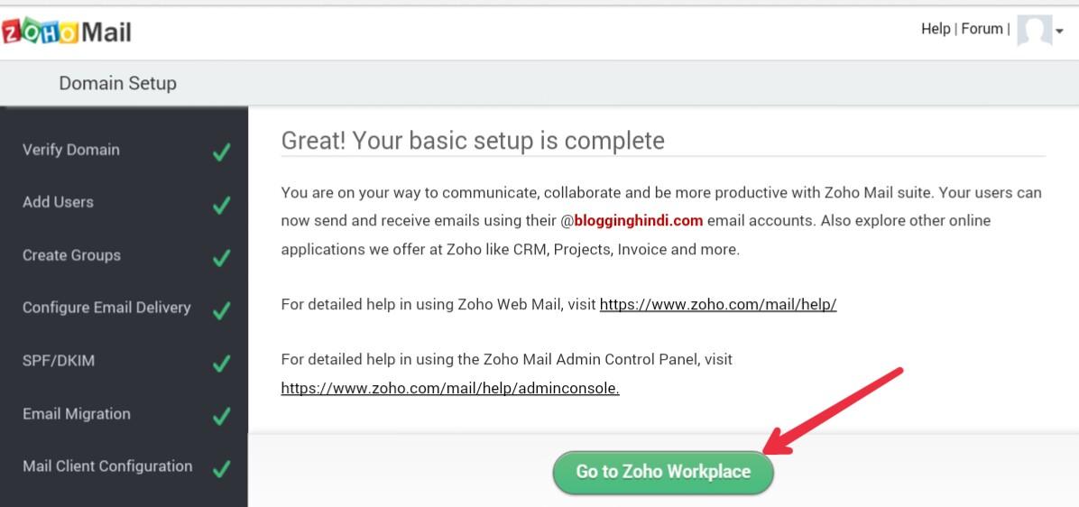 ZohoMail Par Custom Domain Se Free Professional Email Address Kaise Banaye 8